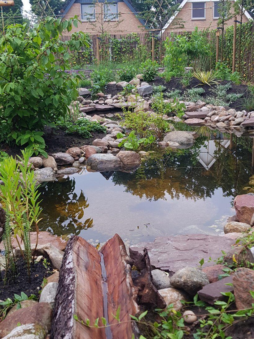 Gebruik van hemelwater in de tuin